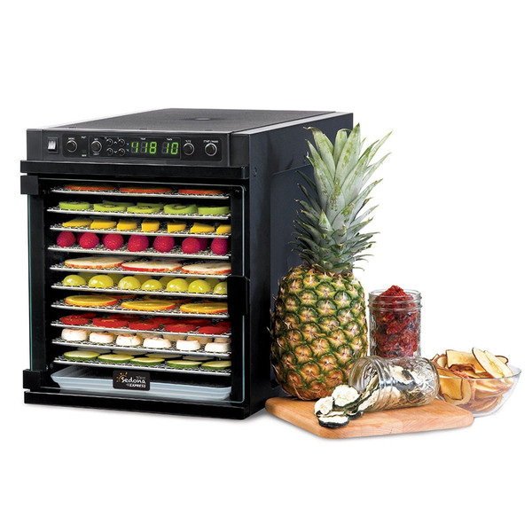 sedona express sde p6280 food dehydrator with bpa free trays rawlicious. Black Bedroom Furniture Sets. Home Design Ideas