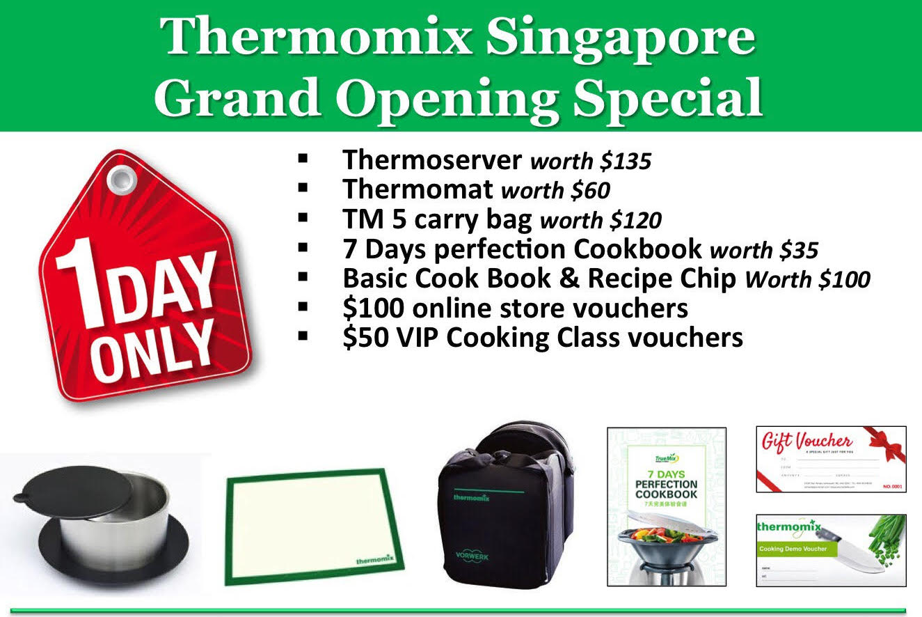 Thermomix Grand Opening Special till Feb 28
